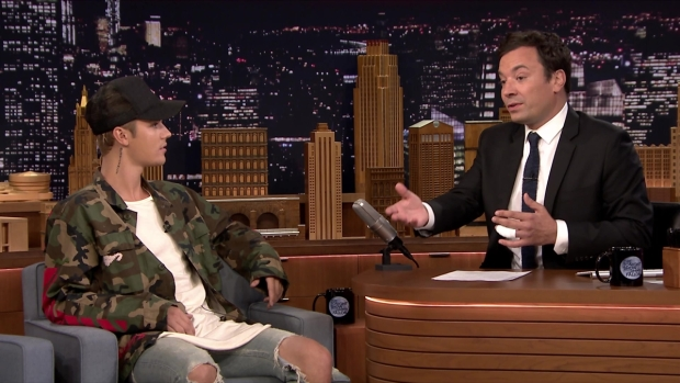'Tonight Show': Bieber Describes Emotional VMAs