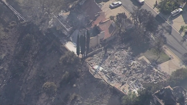 [LA] Aerial Video Shows Destruction in Bell Canyon Area