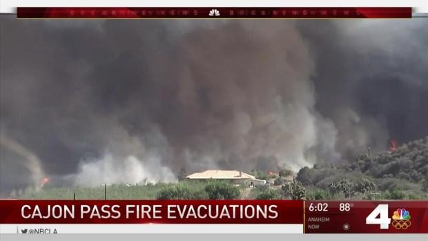 [LA] Blue Cut Fire Burns 10 Square Miles