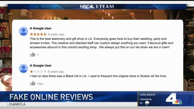 [LA] Booming Business Behind Fake Online Reviews