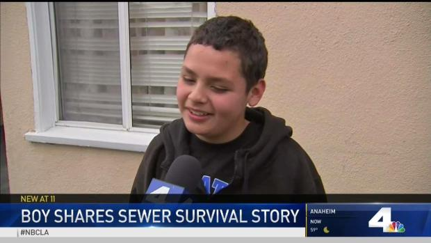[LA] Boy Shares Sewer Survival Story
