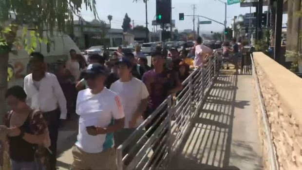 LeBron Let-Down: Fans Wait for Hours at Pizza Giveaway, But He's a No-Show