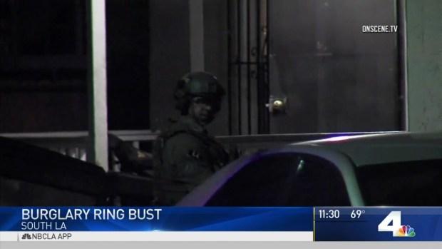 [LA] Burglary Ring Bust