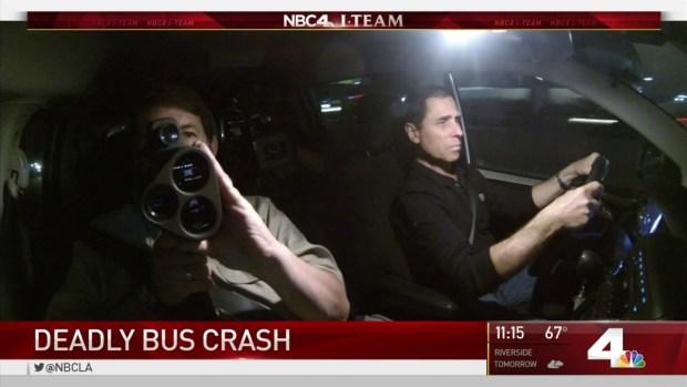 [LA] Speed, Fatigue Among Top Contributors to Bus Crashes