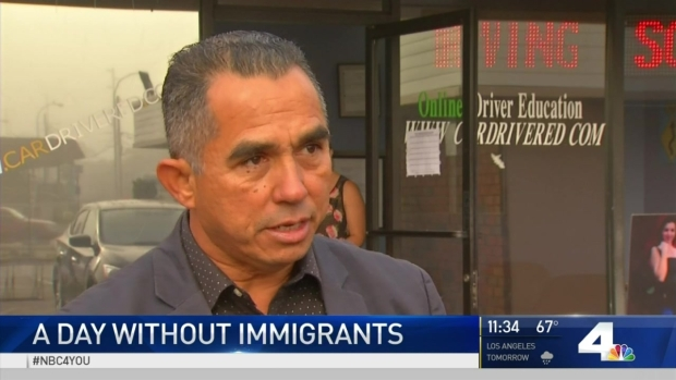 [LA] Businesses Closed for 'A Day Without Immigrants'
