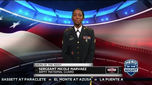 Challenge Hero: Sgt. Nicole Narvaez
