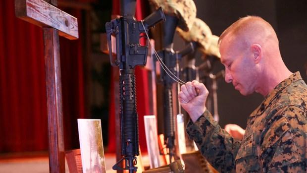 [G] Memorial Held for Marines Killed at Camp Pendleton