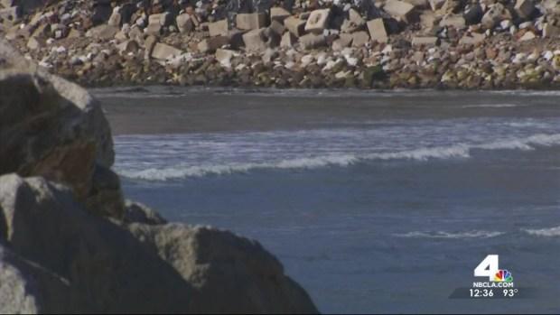 [LA] Rapid Erosion at Cabrillo Beach