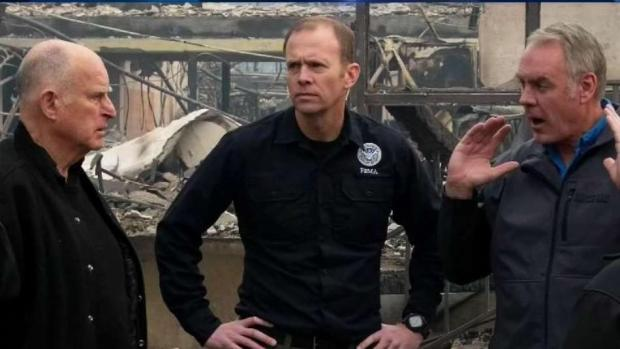 [NATL-BAY] California Gov. Brown Surveys Camp Fire Destruction