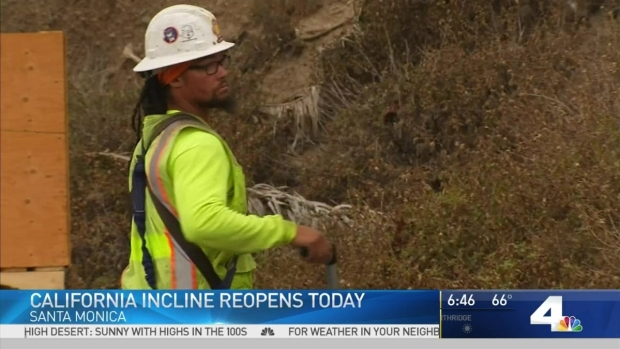 [LA] California Incline to Reopen After Rebuild
