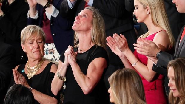 [NATL] Trump Honors Widow of Slain Navy SEAL