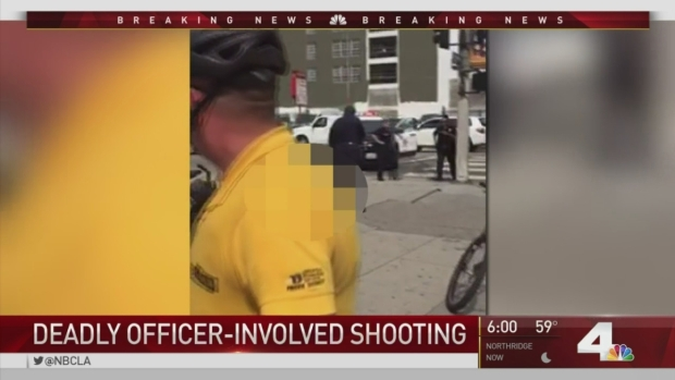 [LA] Cell Phone Video Shows Moments Before Deadly Police Shooting