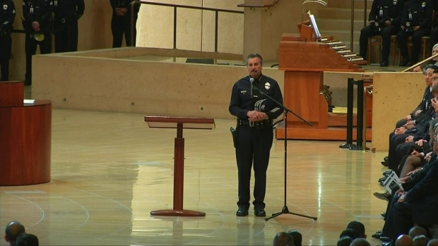 """[LA] Charlie Beck: Lee was the """"Quintessential"""" LAPD Officer"""