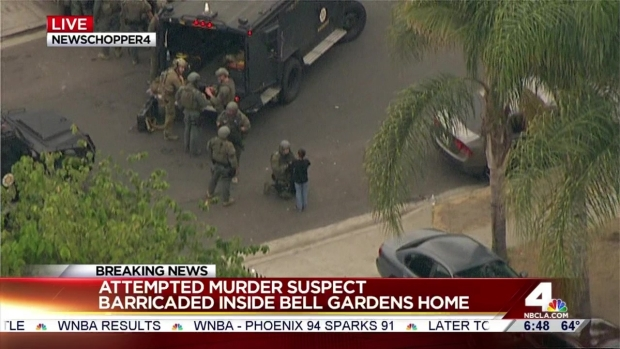Child Walks From Home During SWAT Standoff