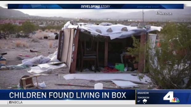 [LA] Children Found Living in Box in Joshua Tree