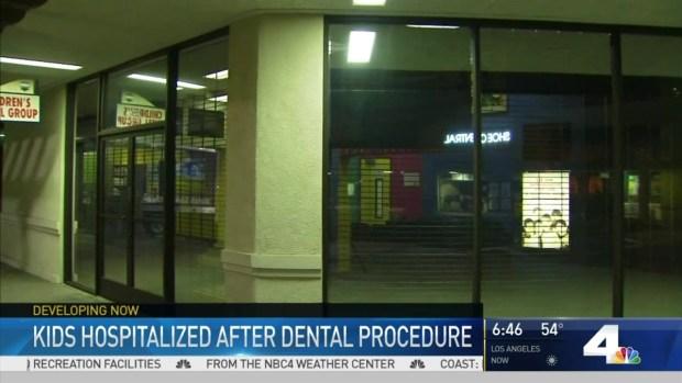 [LA] Children Hospitalized After Dental Procedure