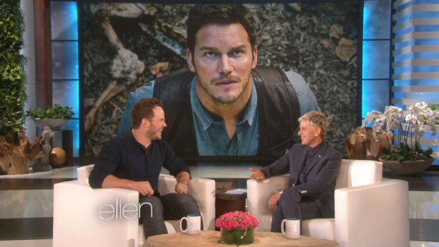 [NATL] Chris Pratt Tells Ellen About Living in A Van in Maui