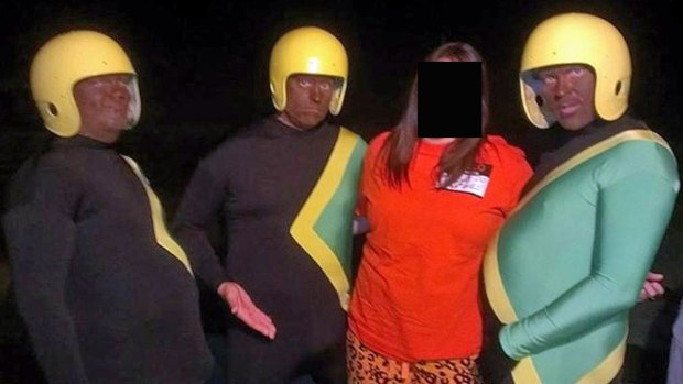 [DGO] Bobsled Athlete Not Offended by Blackface Pic