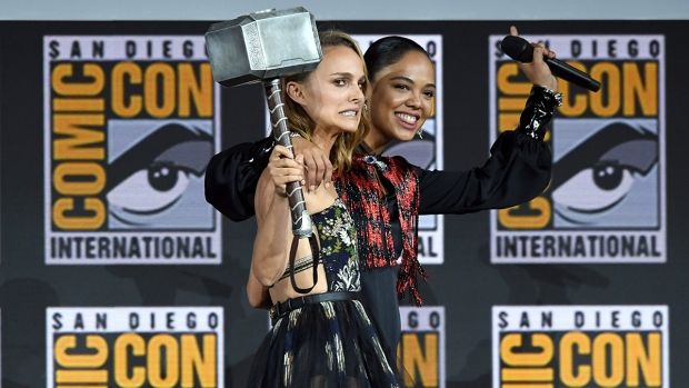 [NATL] Celebrities Attend San Diego Comic-Con 2019