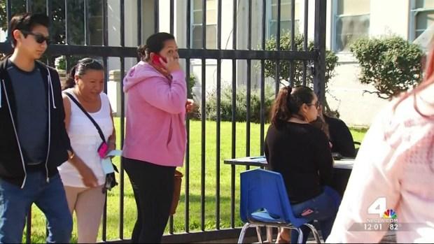 [LA] 207 Compton Teachers Call in Sick