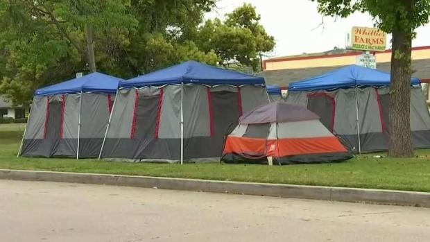 [LA] Controversy Surrounds Whittier Tents With Solar Power and WiFi