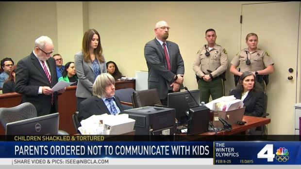[LA] Couple Barred From Having Contact With Children