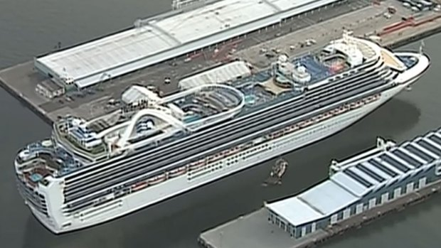 [DGO] Cruise Ship with Sick Passengers Arrives in San Diego