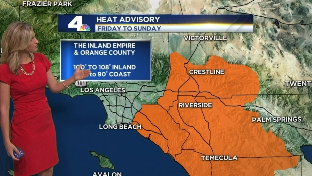 [LA] AM Forecast: Red Flag Warning