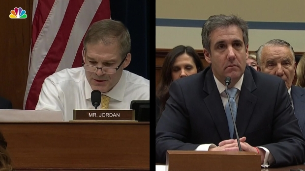 [NATL] Rep. Jordan Challenges Cohen on Creating Fake Twitter Account