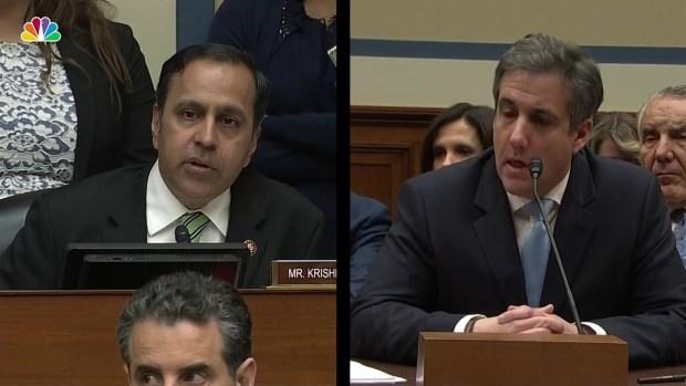 [NATL] Cohen: Prosecutors Are Probing Post-Raid Contacts with Trump