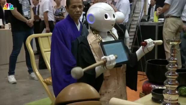 [NATL] Meet 'Pepper' the Robot Priest