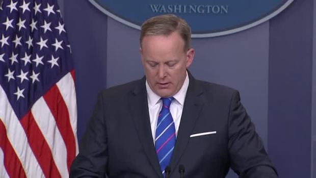[NATL] Spicer: President Condemns Anti-Semitic Actions