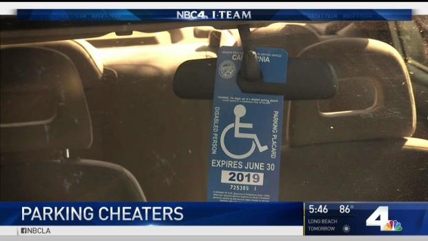 [LA] DMV Struggles to Stop Disabled Parking Placard Abuse