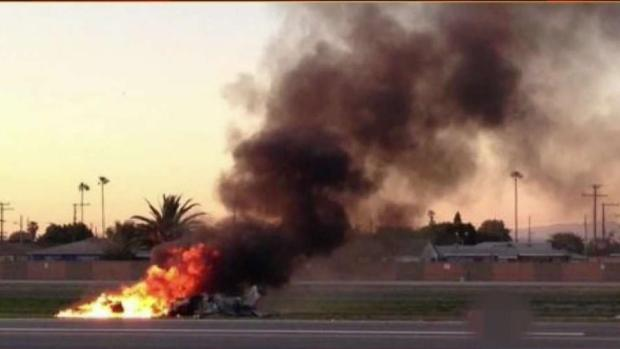 [LA] Deadly Plane Crash at Compton Airport