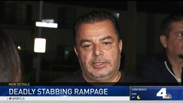 [LA] Community Grieves in Wake of Random Stabbings