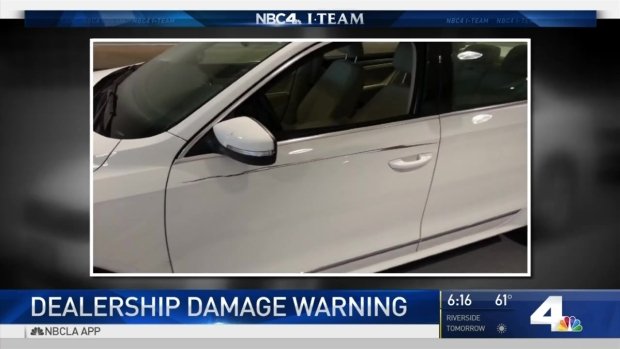 [LA] Dealership Damage Customers Report Problems After Routine Service