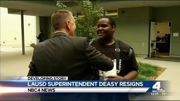 [LA] LAUSD Superintendent Resigns