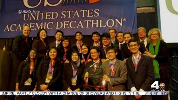 [LA] Decathlon Champions Welcomed at Granada Hills Charter HS