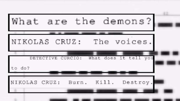 [NATL MI] Details Into Cruz's Interrogation Room Statements