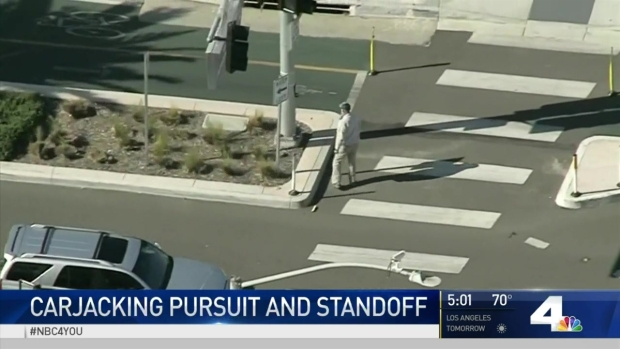 [LA] Dramatic Backward Pursuit Ends in Surrender