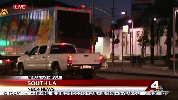 [LA] Driver Sought in South LA Hit and Run