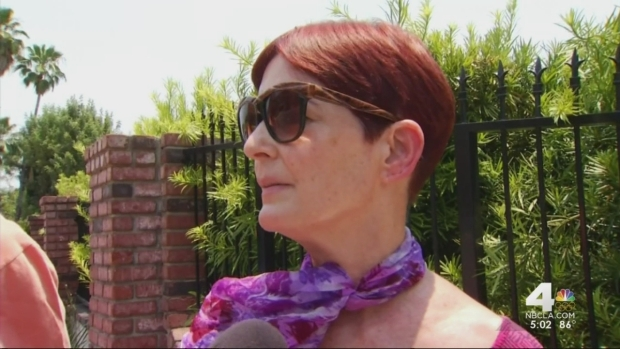 [LA] Duarte Residents Stay Amid Mandatory Fire Evacuations