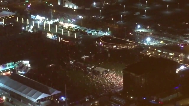 [NATL] Video Shows People Flee Mass Shooting on Vegas Strip
