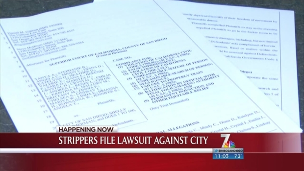 [DGO] Strip Club Dancers File Lawsuit Against SDPD