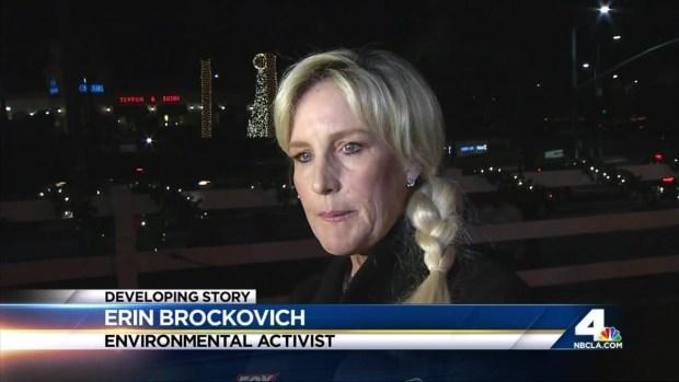 [LA] Erin Brockovich Joins Porter Ranch Gas Leak Discussion
