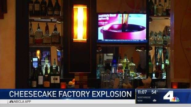 [LA] Explosive Thrown Into Pasadena Cheesecake Factory