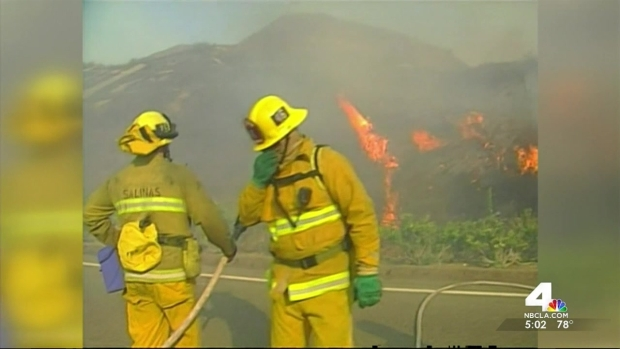 [LA] Dry, Windy Weather Prompts Fire Warning