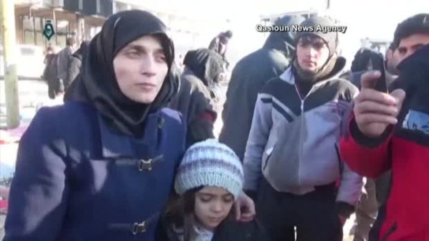 [NATL] Mother, Daughter Who Tweeted From Aleppo Were Evacuated