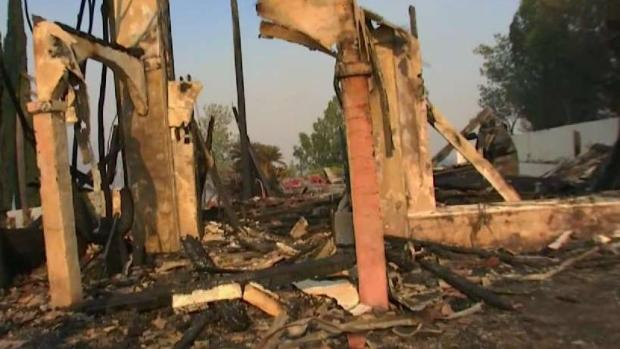 [LA] Fires Destroys House Weeks After Family Makes Final Payment