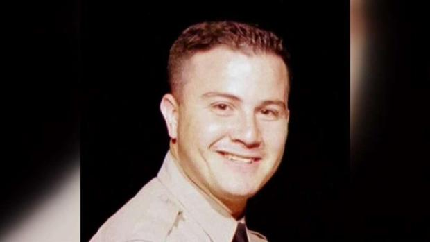 [LA] Family and Colleague's Farewell for Deputy Shot